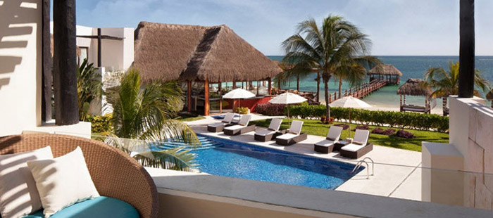 Azul Beach Accommodations - Jacuzzi Ocean Front Junior Suites