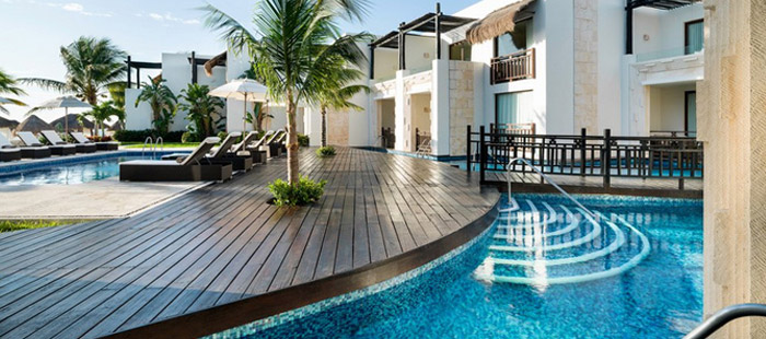 Azul Beach Accommodations - Wedding Swim Up Suites