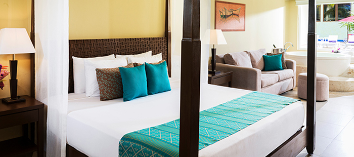 Azul Sensatori Mexico Accommodations - Luxury Jacuzzi Suites