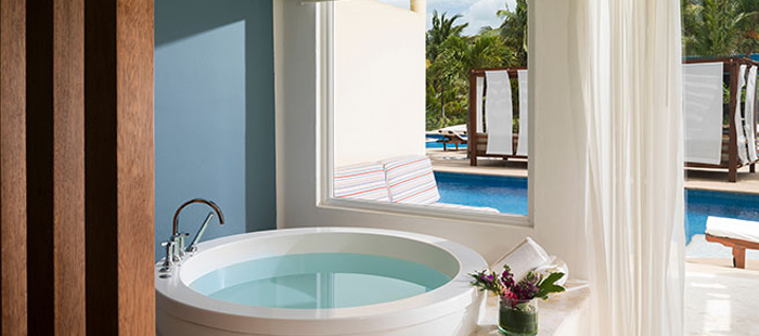Azul Sensatori Mexico Accommodations - Royal Swim Up Suites