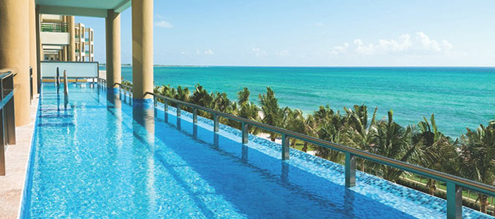 Generations Riviera Maya Accommodations - Ocean Front Two-Bedroom Jacuzzi Infinity