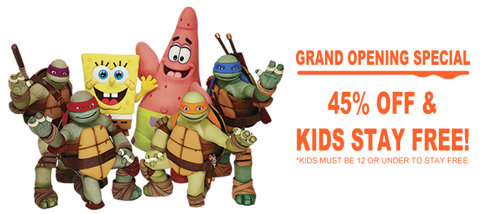 Nick Characters - Nickelodeon Punta Cana Resort