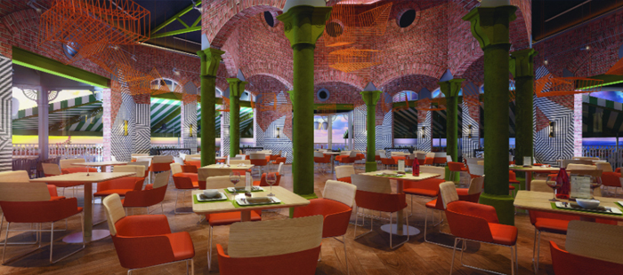 Nickelodeon Resort Punta Cana Dining - Nosh