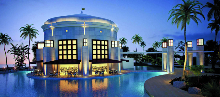 Nickelodeon Resort Punta Cana Dining - The Lighthouse - Beachfront Restaurant